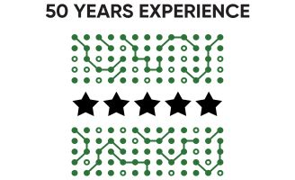 Icon - 50 Years Experience