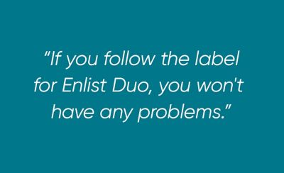 Follow label quote card