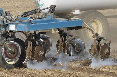 Anhydrous safety