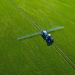 sprayer in a field