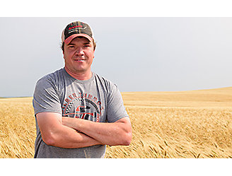 Darin Okerson - North Dakota grower
