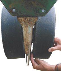 Gauge wheels - disk openers