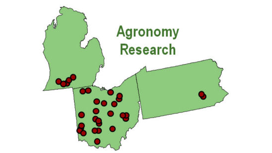 research locations map