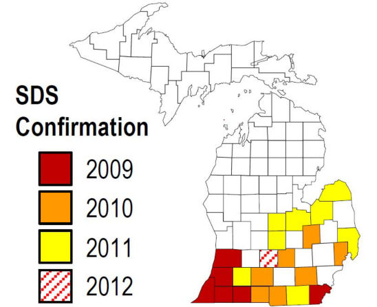 Map: SDS Confirmation - Michigan
