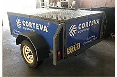 BBQ trailer Corteva
