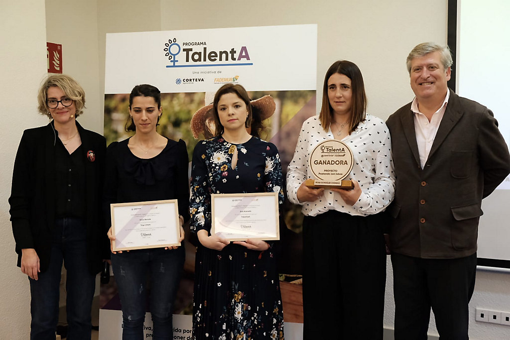 Corteva y Fademur presentan a las tres ganadoras del Programa TalentA