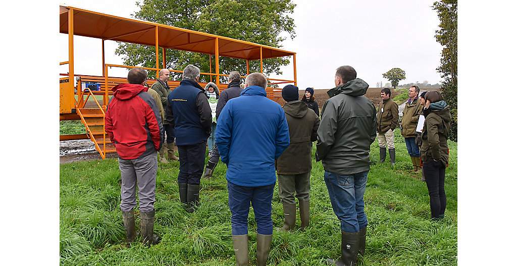 15 farmers attended a launch event in Essex on 1 November hosted by LEAF and Corteva