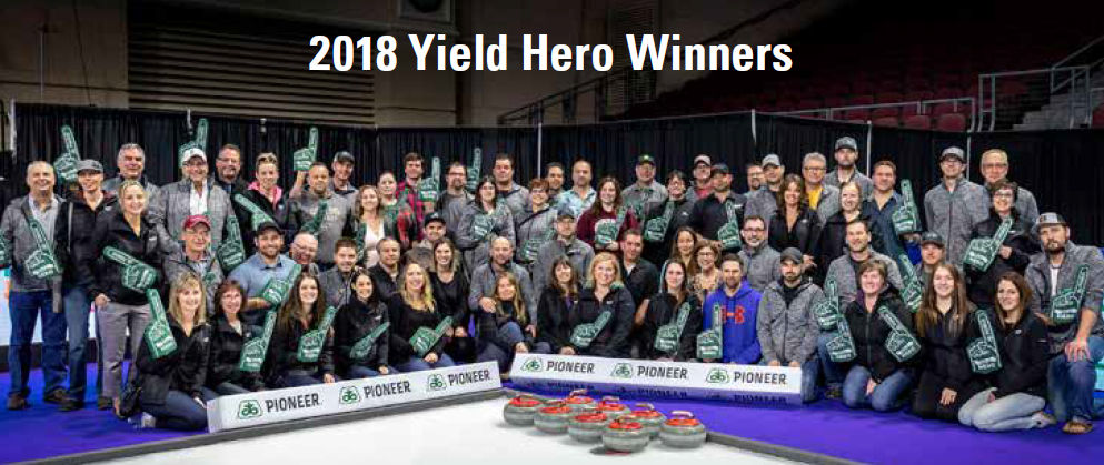 2018 Yield Hero Winners