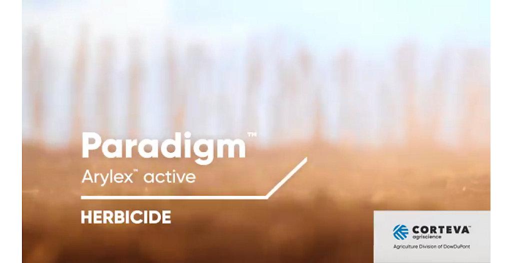 Paradigm™ Arylex™ active Herbicide