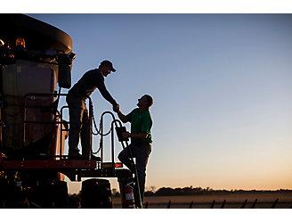 Soybean Harvest Illinois