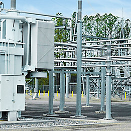 Image of electric power substation