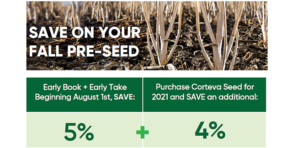Fall Preseed offer
