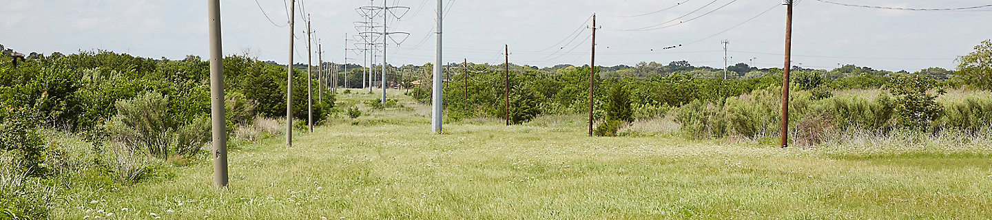 Image of rights-of-way with power lines