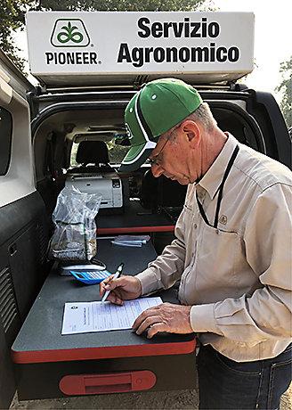 Tecnico del Servizio Agronomico