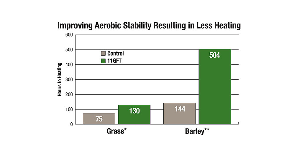 11GFT Improving Aerobic Stability Chart