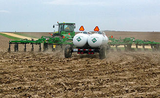 Applying Spring Anhydrous Ammonia