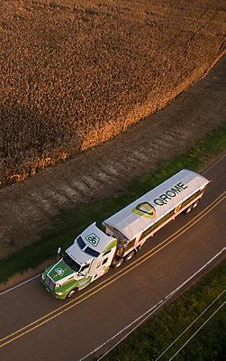 Qrome semi truck