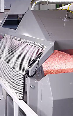 Seed in machine