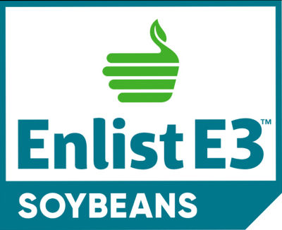 Enlist E3? Soybeans logo