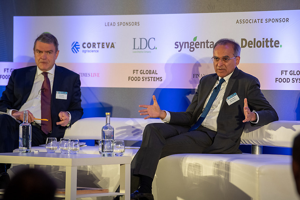 Pavan Sukhdev President WWF_Financial Times Global Food Systems_Corteva