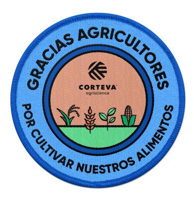 Sello Gracias Agricultores por cultivar nuestros alimentos