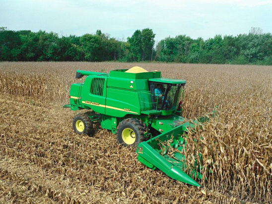 Proper combine settings and operation are critical to preserve grain quality.