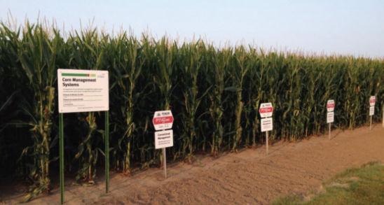 Corn Management System Demonstration; July 31, 2014.
