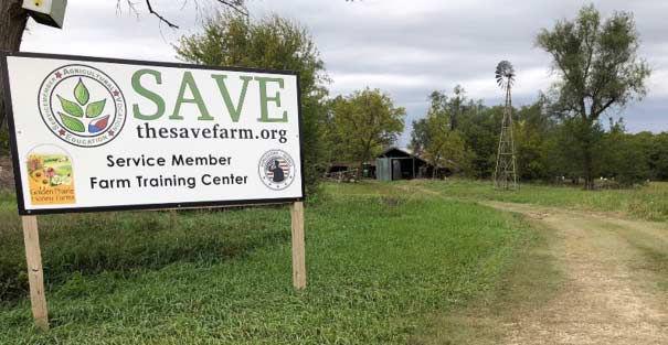 S.A.V.E. Farm entrance.